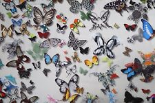 DESIGNERS GUILD CURTAIN FABRIC Butterfly Parade 2 M DAIM CHRISTIAN LACROIX