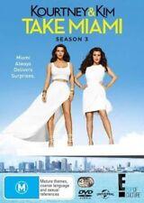 Kourtney & Kim Take Miami : Season 3 (Series Three DVD, 3-Disc Set, Kardashian)