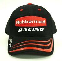 Rubbermaid Racing #97 Cap Hat Kurt Busch Black Red NASCAR Roush Strapback