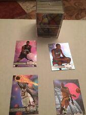 1997-98 Metal Universe basketball complete set #1-125 w/ Michael Jordan & Kobe