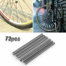 72 Stk. Fahrradspeichenreflektoren Fahrradspeichenstäbe Sicherheitsschläuche