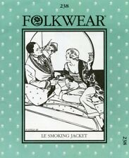 Folkwear 238 Le Smoking Jacket Retro 1920s 1930s Men & Women S-L Sewing Pattern