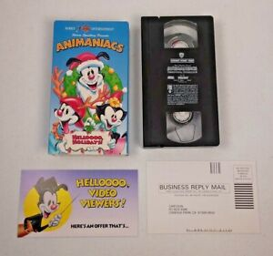 Animaniacs - Heloooo, Holidays (VHS, 1994) Vintage 90s 1990s Cartoon