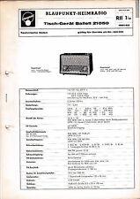 Service Manual-Anleitung für Blaupunkt Ballett 21050