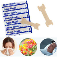 50-100PCS Anti-Snoring Better Breath Nasal Strips Also For Natural Sinus Relief