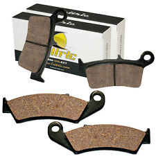 Volar Front /& Rear Brake Pads for 1995-2007 Kawasaki KX250