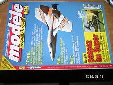 Modele Magazine RCM n°709 plan encart Yak-A / Telemetrie Yak 55M Funjet Gee Bee