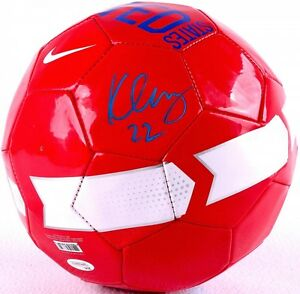 Meghan Klingenberg Signed Team USA Nike Soccer Ball (JSA COA)