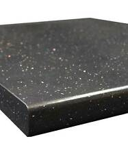 Black Glam Sparkle - Andromeda Gloss 40mm Laminate Kitchen Worktop - Fast & Free