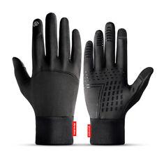 Mens Winter Thermal Warm Waterproof Ski Snowboarding Driving Work Gloves Mitten