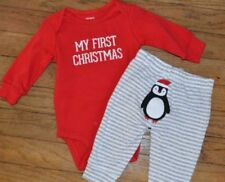 Holiday Cotton Unisex Baby Outfits & Sets