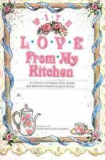 New & Sealed WITH LOVE FROM MY KITCHEN  Make Your Own Recipe Book.