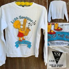 Vintage Lisa Simpson Queesn Of The Blues Sweatshirt The Simpsons 90s 1990s L