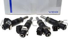 4x VDO A2C59506218 Einspritzventil Einspritzdüse 2-Pin Injektor + Dichtung BMW