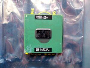 Intel Pentium M 725A SL89T 1.6/2M/400 CPU processor