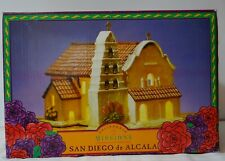 Mervyns California Missions San Diego de Alcala Lighted Building 1st Series 1997