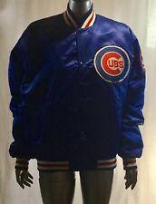 Vintage Chicago Cubs Starter Veste USA Fabriqué Taille L