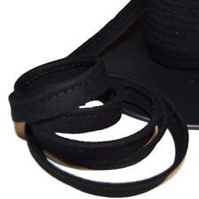 Passepoil coton noir, de belle qualité - Passepoil couture noir
