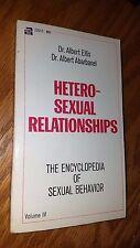 Hetero-Sexual Relationships Vol 4: Albert Ellis, Albert Abarbanel 1967 E-94