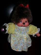 Monchhichi,Monchichi, Munchichi 5 Inch ADORABLE Girl With Outfit