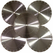 "5PK-14"" Concrete Brick Block Paver LimestoneTile Asphalt Diamond Saw Blade-BEST"