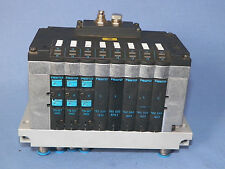 Festo block for 8 x 14mm-valves, 162550 and 176067