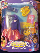 Dora-the-Explorer-Doll-Clothes-School-Time-Dress-up-Collection-Pretend-Play-Toy