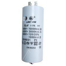 Condo / Condensateur Permanent pour Démarrage Moteur  70MF 70µF 450V 5%
