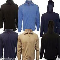 Mens Fleece Jackets Full Zip Quarter Zip And Hoodies Henbury Anti Pill New