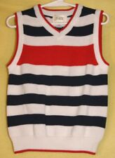 Children's Place Boy's STRIPED Sweater Vest 24 Mo NWT