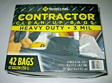 Member's Mark Commercial Contractor Clean-Up Trash Bags (42 gal., 42 ct.)