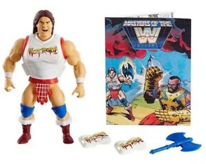 """WWE MOTU Masters Of The Universe """"ROWDY"""" RODDY PIPER Wave 5 in hands"""
