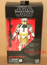 """CLONE COMMANDER BLY #104 Black Series 6"""" Figure Star Wars Revenge of the Sith"""