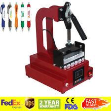 USA SHIP - 3D Sublimation Pen Heat Press Machine Ballpoint Heat Transfer Machine