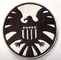 "Avengers/Agents of SHIELD Cream/OD  3.5"" Logo Patch-FREE S&H (ASPA-06)"