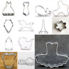 Cutter Cookie Mold Cartoon Fruit Baking Biscuit Vegetable Stainless Steel Hot