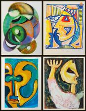 Anthony Quinn The Great Spirit Portfolio 10 Lithographs Hand Signed Cubism Art