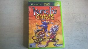 KUNG FU CHAOS - BIG FIGHT! MUCH ACTION! - ORIGINAL XBOX GAME - FAST POST