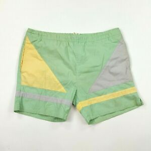 "VTG 70s 80s Generation One Men's Size M 36"" Mint Green Swim Trunks Board Shorts"
