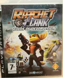 Ratchet & Clank Tools Of Destruction  PS3 PlayStation 3 good condition