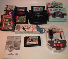 Sega Genesis Model 3 Console MK-1461 System 11 Game Bundle Sonic 2 ++ MUCH MORE