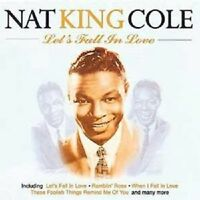 """NAT KING COLE """"LET'S FALL IN LOVE"""" CD NEUWARE"""