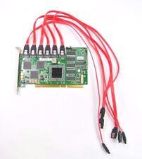 LSI Logic SER523 REV B2 6 Port SATA 150 RAID PCI-X Card