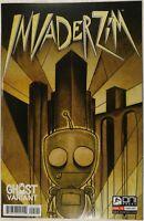 INVADER ZIM #1 [Bridge City Comics / Ghost variant cover; Jhonen Vasquez]