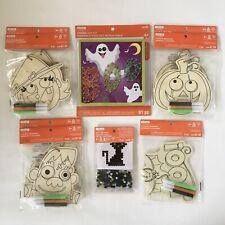 Creatology Kids Halloween Activity Kits Ornaments String Art Melty Bead Lot of 9