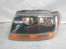 2000 2001 Jeep Grand Cherokee Headlight assembly Left driver side headlamp