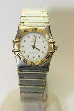 Classic Vintage Omega Constellation St. Steel & 18k Gold Ladies Watch