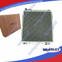 For TOYOTA HILUX radiator SURF KZN130 1KZ-TE 1993 1994 1995 1996 Aluminum AT/MT