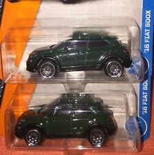 Lot of 2 Matchbox New For 2017 '16 Fiat 500X & New In Package 1:64 Die Cast
