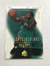 2003-04 SP Authentic Spectaculars Limited 074/100 Baron Davis #97